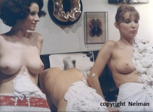 "moulage direct film ""Paris top secret"", 1967"