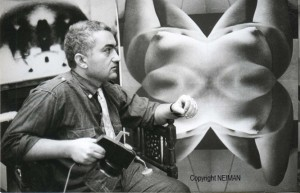Neiman, photo de John Max, 1965